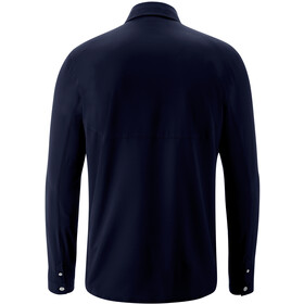 Maier Sports Sinnes Tec T-shirt Manches longues Homme, night sky
